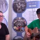 Aine and Cathal Holland singing 'Motherland'