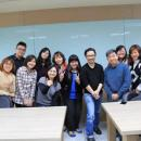Professor Tao and his social work students