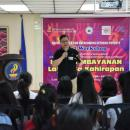 Sept 23, address by representative of the National Anti-Poverty Commission